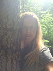 Yogalehrerin Silvia Stipar
